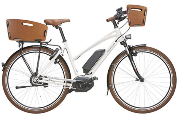 vélo avec panier